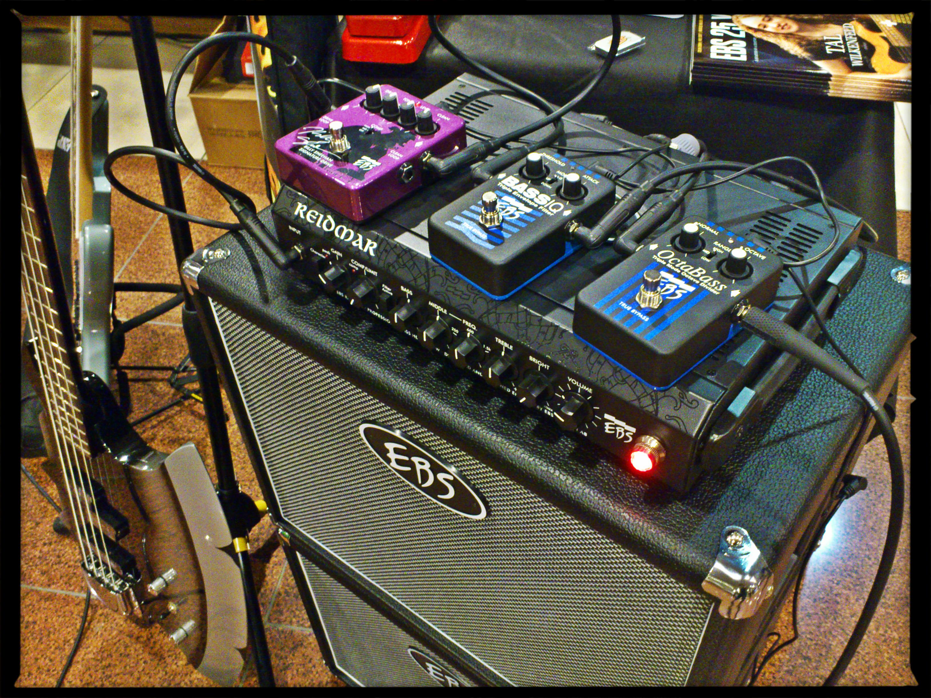 EBS pedals