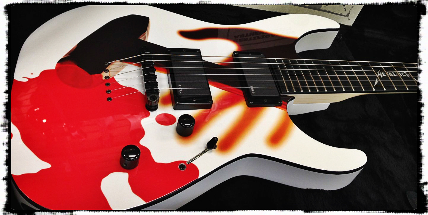 metallica kill them all guitar