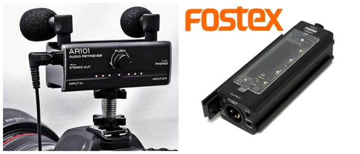 Fostex Videocamera Audio ar501 ar101