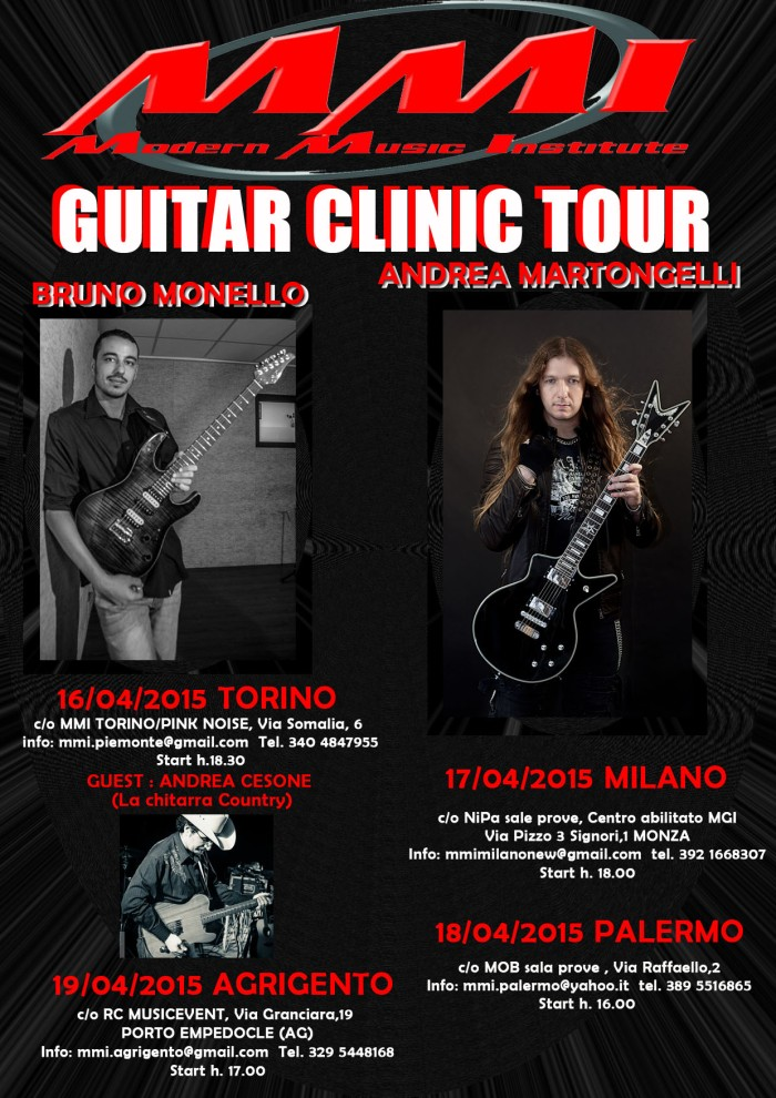 clinic tour NEW